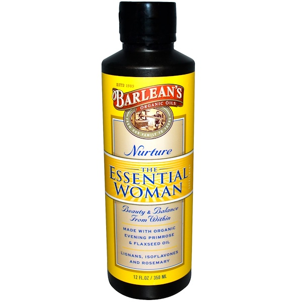 Barlean's, The Essential Woman, Nurture, 12 fl oz (350 ml)
