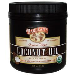 Barlean's, Organic Virgin Coconut Oil, 16 fl oz (473 ml)