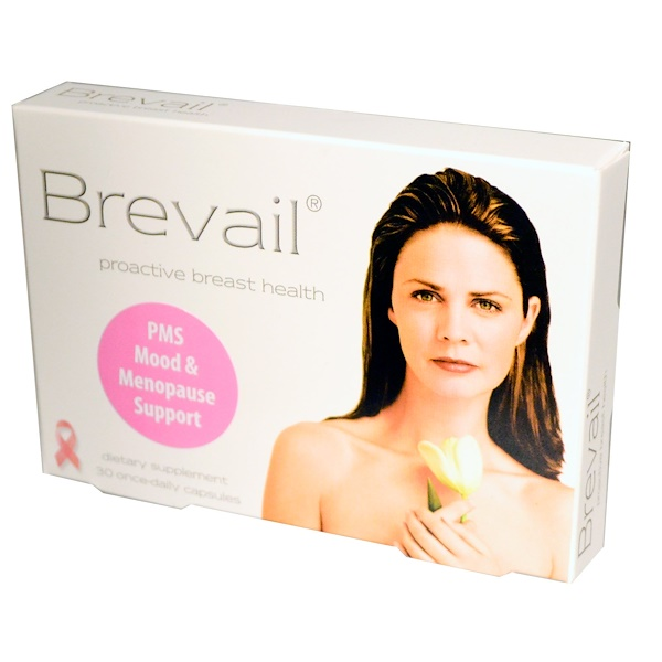 Barlean's, Brevail, Proactive Breast Health, 30 Once-Daily Capsules (Discontinued Item)