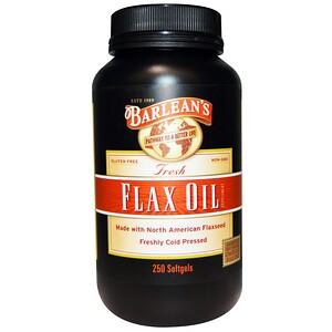 Барлинс, Fresh Flax Oil, 250 Softgels отзывы покупателей