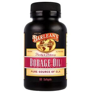 Барлинс, Borage Oil, 60 Softgels отзывы