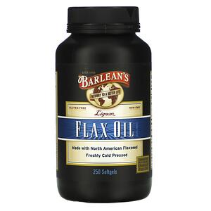 Барлинс, Lignan Flax Oil, 250 Softgels отзывы
