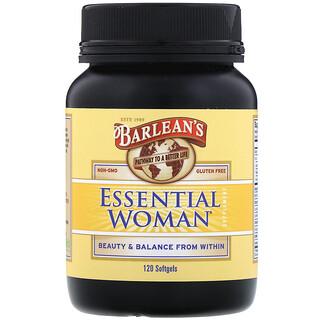 Barlean's, Essential Woman,女性健康滋養補充片劑,120 片