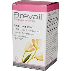 Barlean's, Brevail Plant Lignan Extract, 30 Capsules