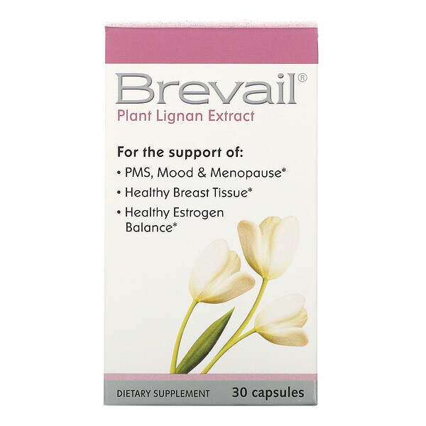 Brevail Plant Lignan Extract, 30 Capsules