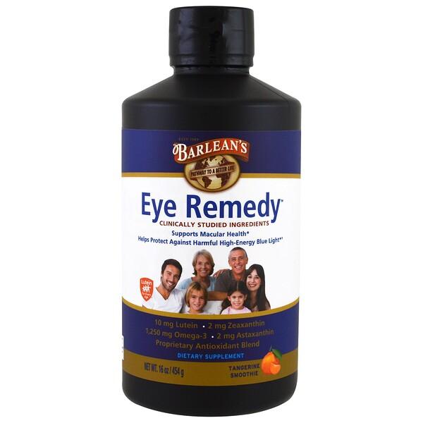 Barlean's, علاج للعينين، مشروب مندرين، 16 أوقية (454 غ) (Discontinued Item)