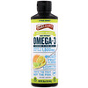 Barlean's, Seriously Delicious, Omega-3 Fish Oil, Citrus Sorbet, 16 oz (454 g)