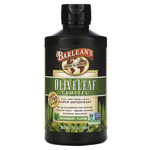 Барлинс, Olive Leaf Complex, Peppermint Flavor, 16 oz (454 g) отзывы