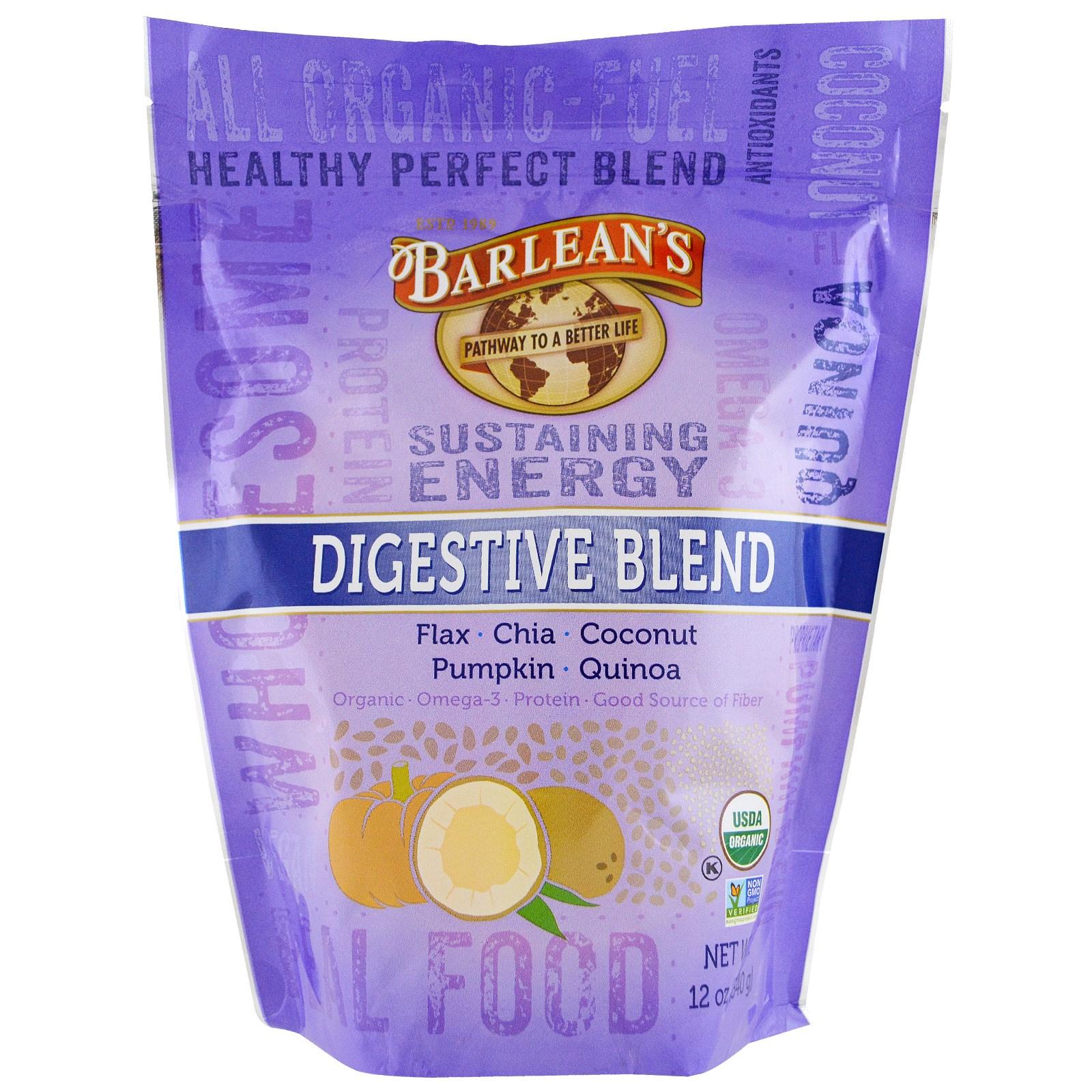 Barlean's, Органическая пищеварительная смесь, 12 унций (340 г)