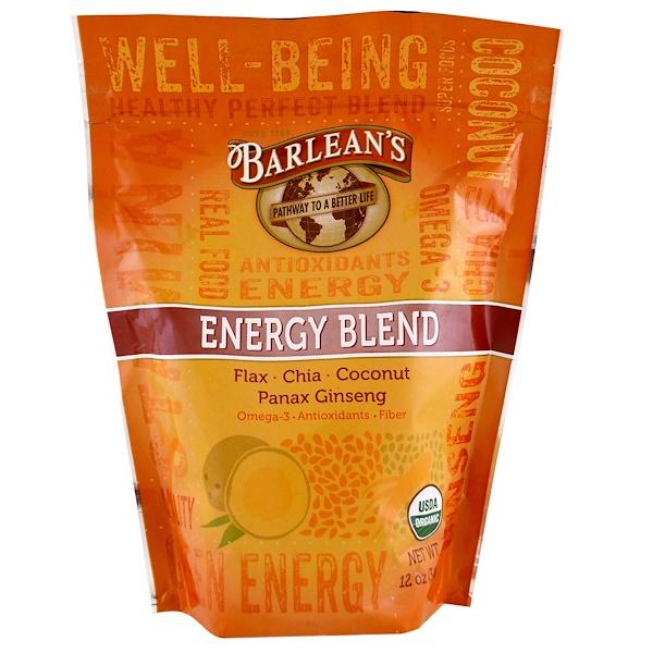 Barlean's, Organic Energy Blend, 12 oz (340 g) (Discontinued Item)