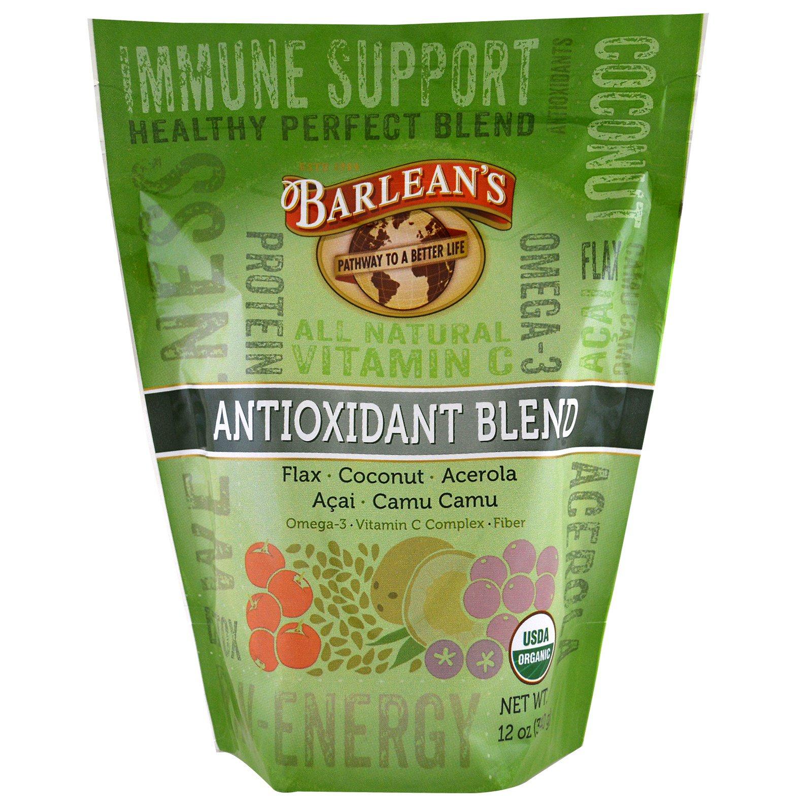 Barlean's, Органическая антиоксидантная смесь, 12 унций (340 г)
