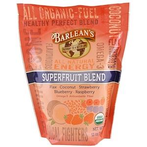 Барлинс, Organic Superfruit Blend, 12 oz (340 g) отзывы