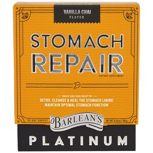 Барлинс, Stomach Repair, Vanilla Chai , 6.35 oz (180 g) отзывы покупателей