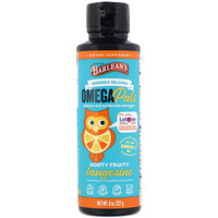 Barlean's, Seriously Delicious Omega Pals, Hooty Fruity Tangerine, 8 oz (227 g)