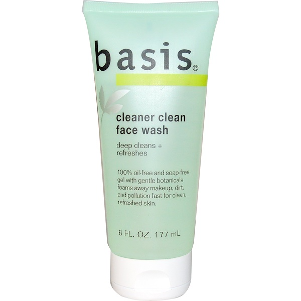 Basis, Cleaner Clean Limpiador Facial, 6 fl oz (177 ml)