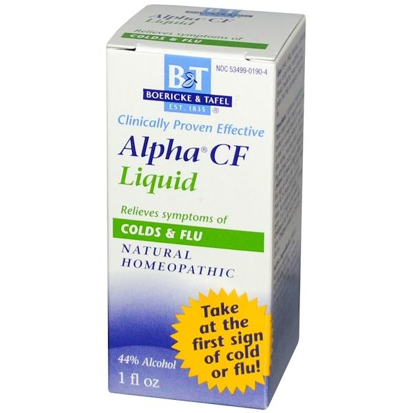 Boericke & Tafel, Alpha CF Liquid, 1 fl oz (Discontinued Item)