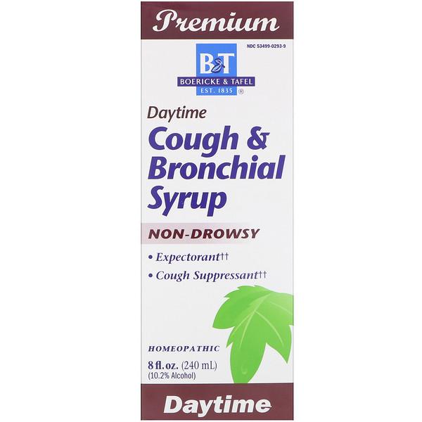 Boericke & Tafel, Cough & Bronchial Syrup, Daytime, 8 fl oz (240 ml)