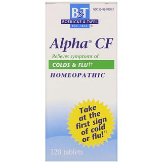 Boericke & Tafel, Alpha CF, 120comprimés