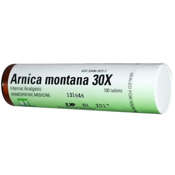 Boericke & Tafel, Arnica Montana 30X, 100 Tablets (Discontinued Item)