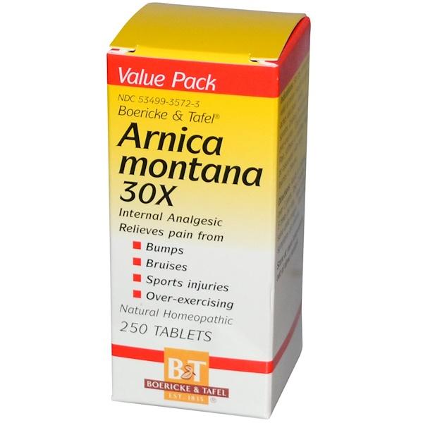 Boericke & Tafel, Arnica Montana, 30X, 250 Tablets