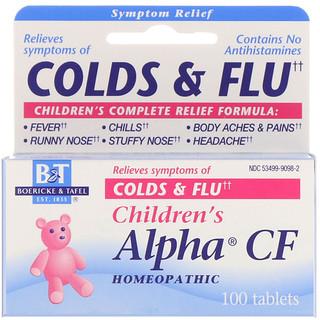 Boericke & Tafel, Alpha CF Infantil, 100 Comprimidos