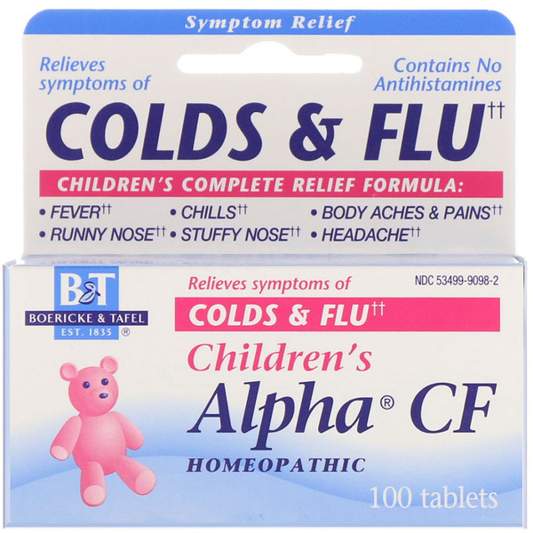 Children's Alpha CF, 100 Tablets