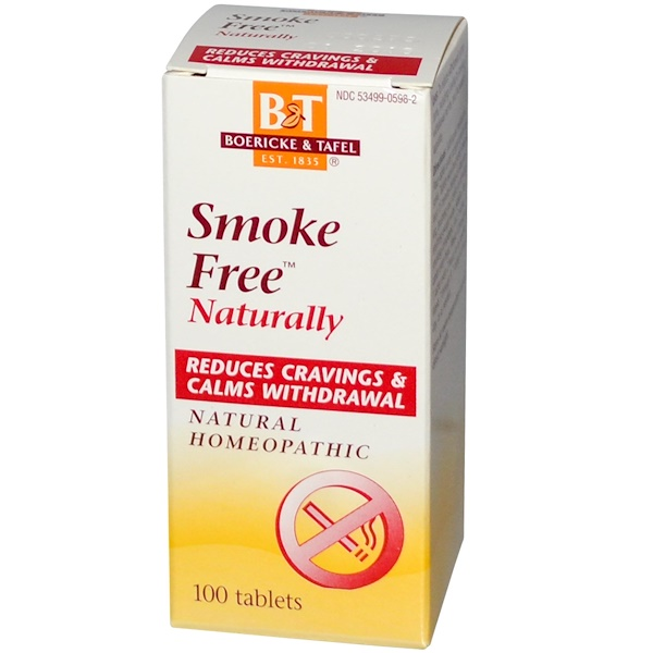 Boericke & Tafel, Smoke Free Naturally, 100 Tablets