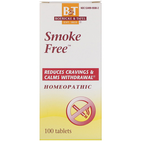 Boericke & Tafel, Smoke Free, 100 Tablets (Discontinued Item)