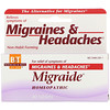 Boericke & Tafel, Migraide , 40 Comprimidos