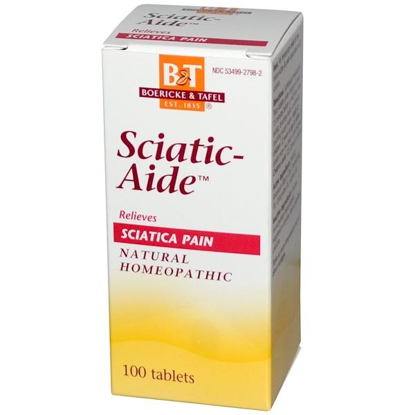 Boericke & Tafel, Sciatic-Aide, 100 Tablets (Discontinued Item)