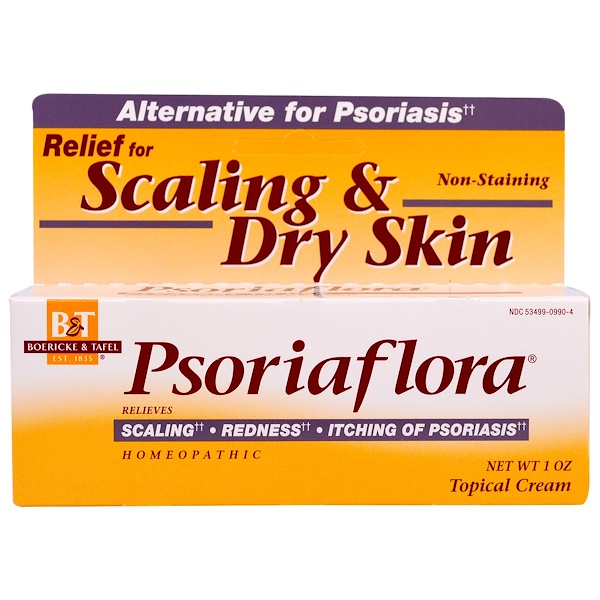 Boericke & Tafel, Psoriaflora, Topical Cream, 1 oz