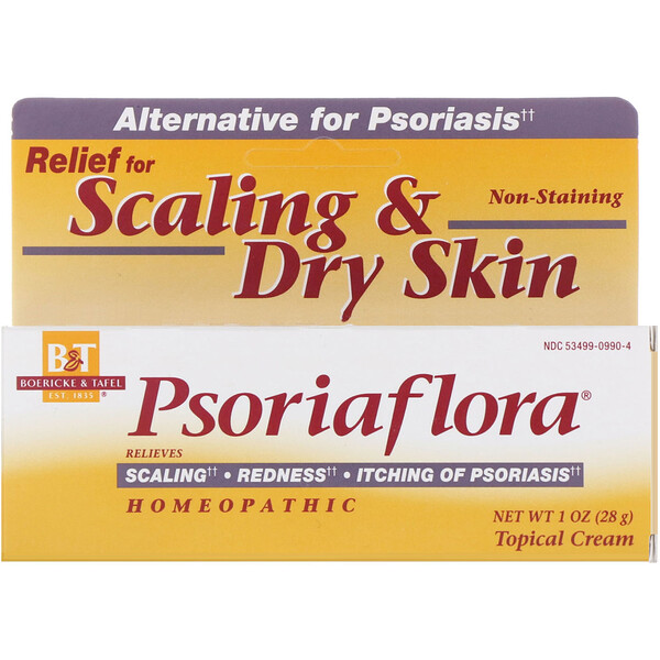 Psoriaflora, Topical Cream, 1 oz (28 g)