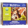 Bavarian Breads, Organic Pumpernickel, 17.6 oz (500 g)