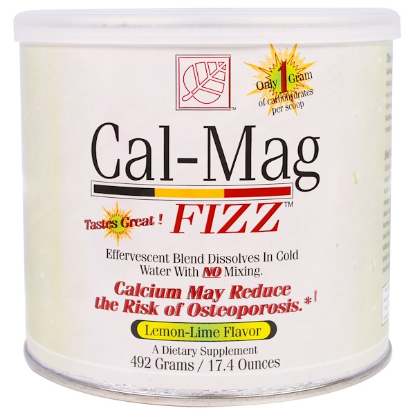 Baywood, Cal-Mag Fizz, Lemon-Lime Flavor, 17.4 oz (492 g) (Discontinued Item)