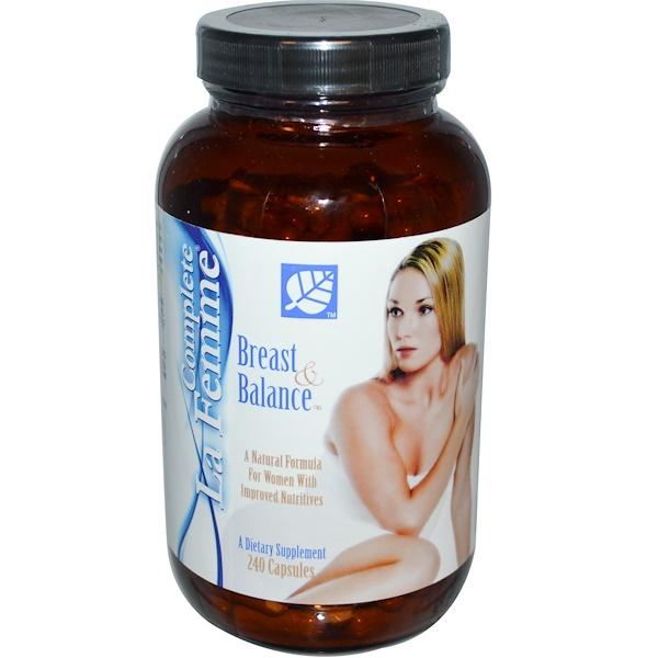 Baywood, Complete La Femme, Breast & Balance, 240 Capsules (Discontinued Item)