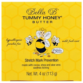 Bella B, Tummy Honey Butter, Stretch Mark Prevention, 4 oz (113 g)