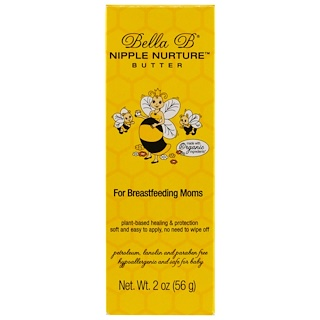 Bella B, Nipple Nurture Butter, For Breastfeeding Moms, 2 oz (56 g)
