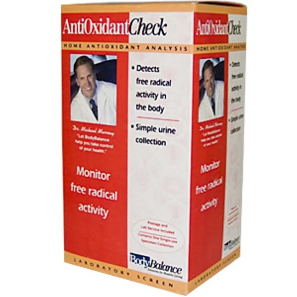 Body Balance, AntiOxidant Check, Home Antioxidant Analysis, 1 Laboratory Screen (Discontinued Item)