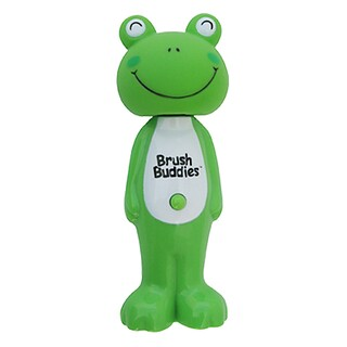 Brush Buddies, Poppin', Leapin' Louie Frog, Soft, 1 Toothbrush