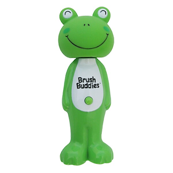 Poppin', Leapin' Louie Frog, Soft, 1 Toothbrush
