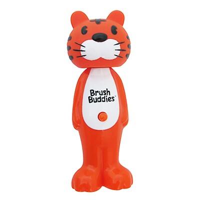Brush Buddies Poppin, зубастый тигр Тоби, мягкая, 1 зубная щетка