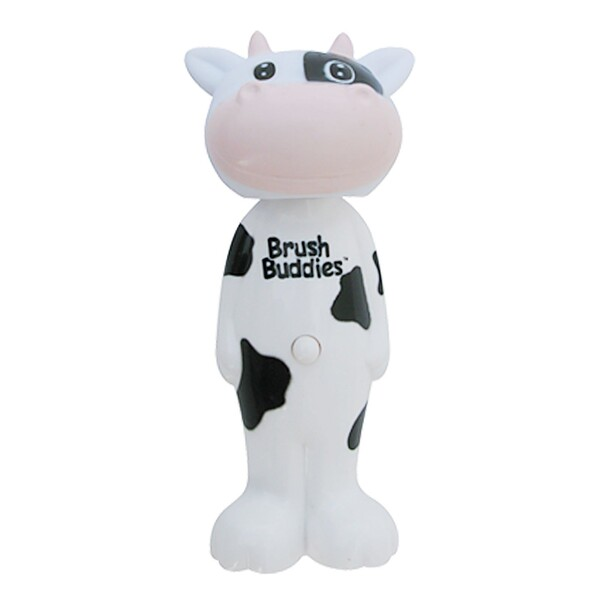 Poppin', Milky Wayne Cow, Soft, 1 Toothbrush