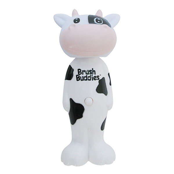 Brush Buddies, Poppin', Milky Wayne Cow, Soft, 1 Toothbrush