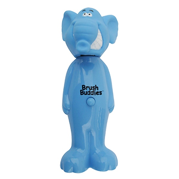 Brush Buddies, Popz, Élephant, Doux, 1 brosse à dents (Discontinued Item)