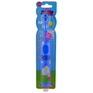 Brush Buddies, Peppa Pig, Electric Toothbrush, Soft , 1 Toothbrush
