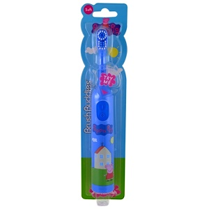 Браш Баддис, Peppa Pig, Electric Toothbrush, Soft , 1 Toothbrush отзывы покупателей