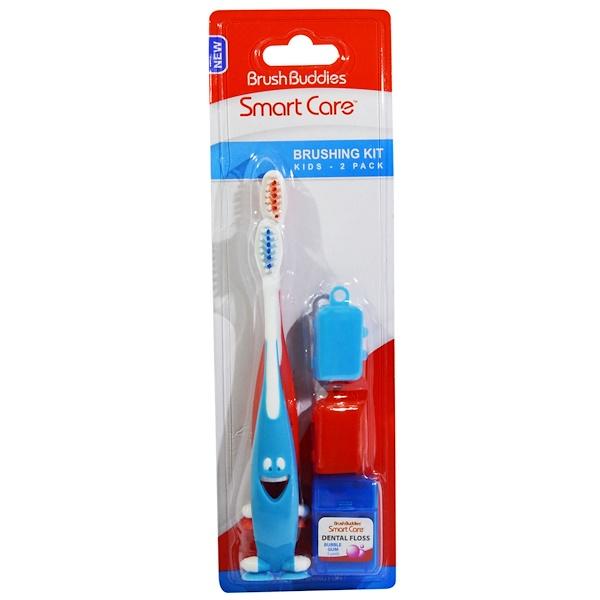 Brush Buddies, Smart Care, Brushing Kit, 5 Piece Kit (Discontinued Item)