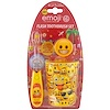 Brush Buddies, Emoji, Flash Toothbrush Set, Soft, 3 Piece Kit