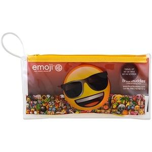 Браш Баддис, Emoji, Toothbrushing Travel Kit, 3 Piece Kit отзывы