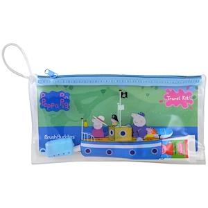 Браш Баддис, Peppa Pig, Toothbrushing Travel Kit, 3 Piece Kit отзывы покупателей